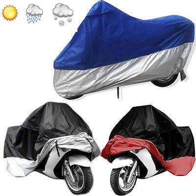 Motorbike Motorcycle Bikes Outdoor Indoor Protect Waterproof Dustproof UV Cover(China (Mainland))