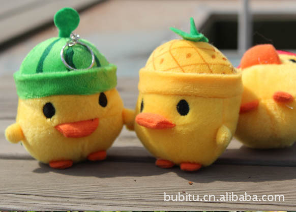 بيع الهاتف المحمول قلادة الفاكهة الدجاج لطيف أفخم لعبة زفاف عرس gif(China (Mainland))