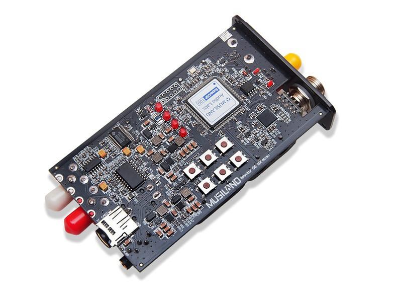 Musiland Monitor 06 MX Sound Card PC HiFi USB DAC 32Bit/384KHz PCM1798 DSD Digital output Earphone Amplifier PDA HIFI DAC