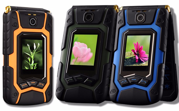 MAFAM Land Flip Rover X9 phone Double dual Screen Dual speaker Dual SIM Card one-key dial long standby 2500mAh FM mobile phone