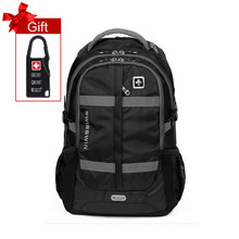 "Swisswin 15"" 16"" 17"" laptop backpack big capacity men tactical military bag daily hiking travel bag case school mochila sw8350N(China (Mainland))"