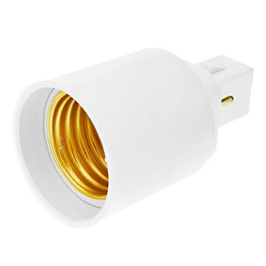 10pcs Adapter G24 to E27 Adapter Converter LED Bulb Holder Socket  <br><br>Aliexpress