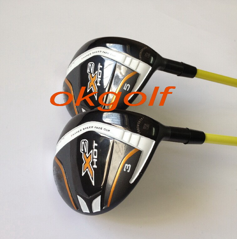 2014 new golf clubs X2 hot fairway wood 3#5# with japan Tour AD MT-6 shaft high quaity golf woods(China (Mainland))