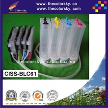 (CISS-BLC61) CISS ink tank continuous ink supply system for Brother MFC 930CDWN 5490CN 5890CN 6190CN 6490CW free shipping