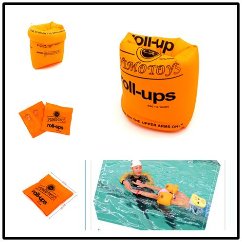 1pairs Adult Child thicken PVC swimming arm ring floating rings kids inflatable swim life air sleeves(China (Mainland))