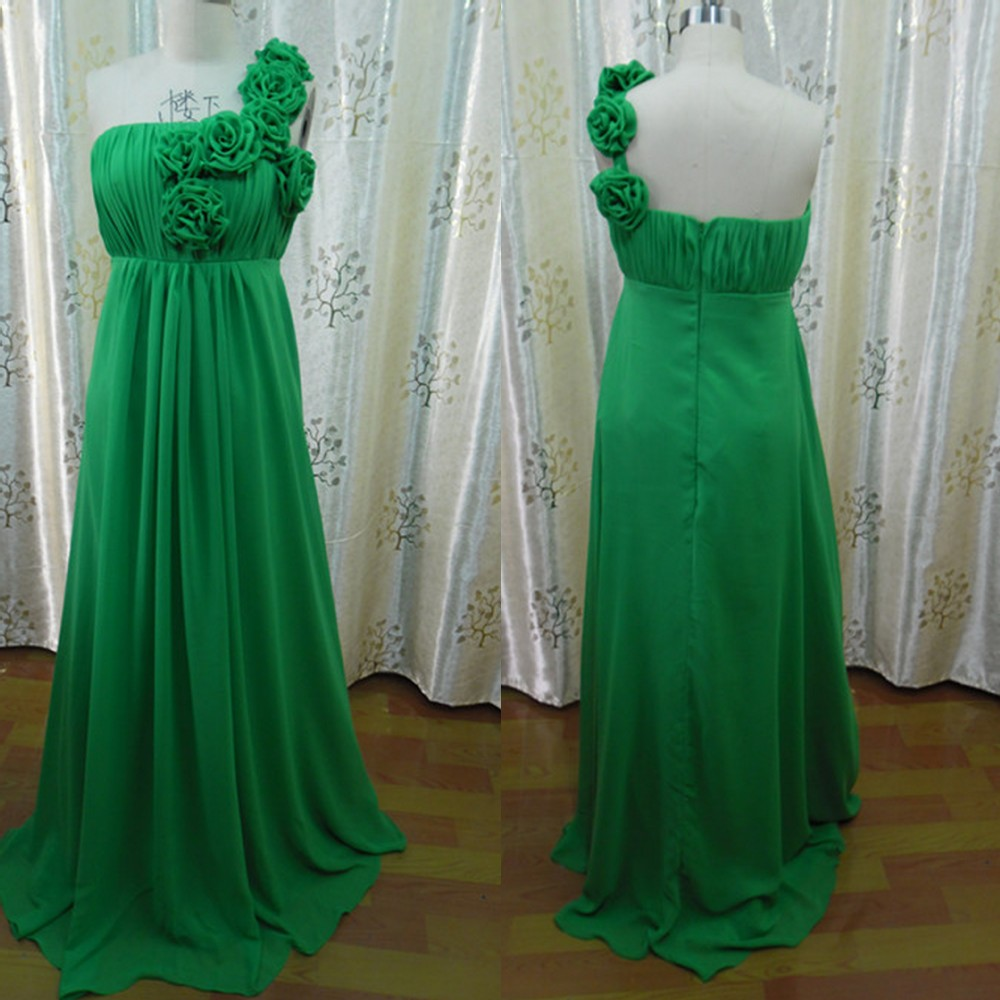 Popular forest green gown buy cheap forest green gown lots for Forest green wedding dress