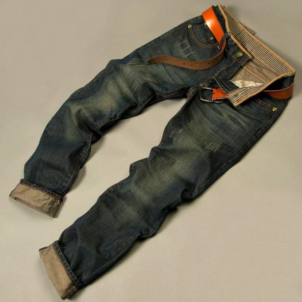 Hot jeans 2014 men's fashion jeans men big sale autumn clothes new fashion brand Men's pants(China (Mainland))