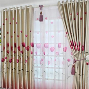 compra tulip n cortina online al por mayor de china. Black Bedroom Furniture Sets. Home Design Ideas