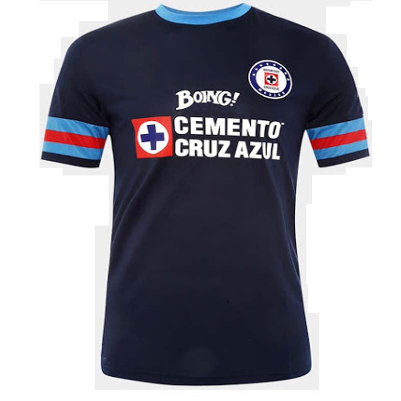 2016 2017 New Blue Cross of Mexico Soccer jerseys Home Away black 2016 17 Blue Cross of Mexico Football Kits Thai top quality(China (Mainland))