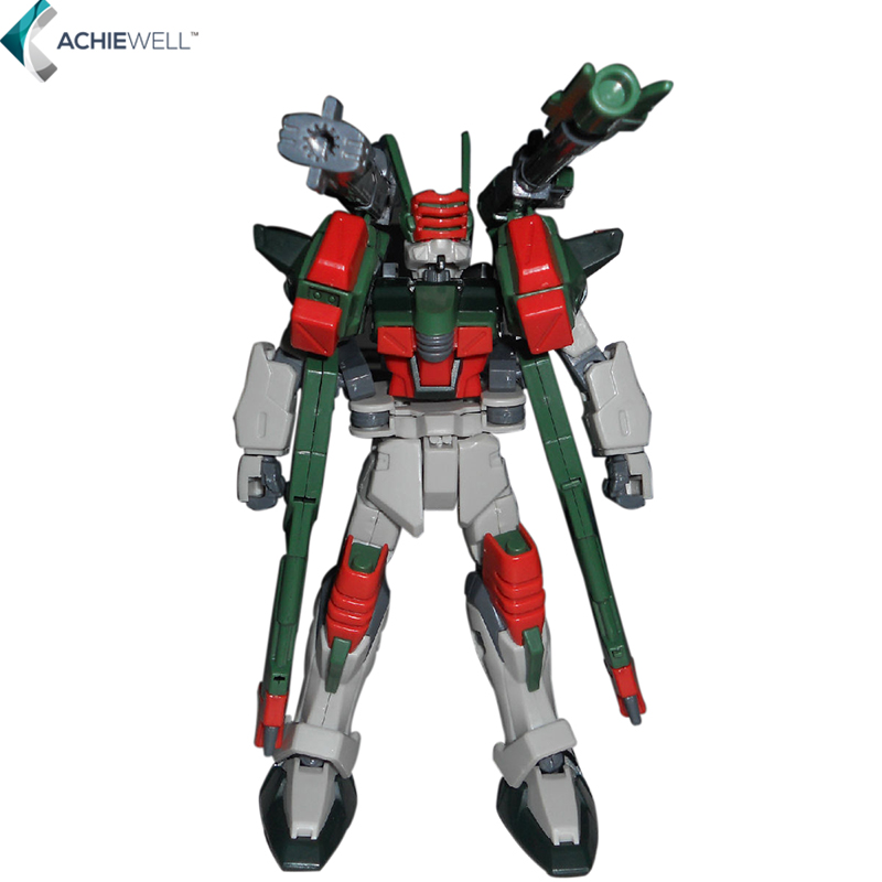 Brand GAOGAO GG HG Verde Buster Gundam Model 1 144 with Standing Frame ABS Action Figure