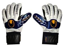 2015 UhlSport Professional goalkeeper gloves with finger protection Brand logo Goal keeper Gloves Soccer Goalie Soccer(China (Mainland))
