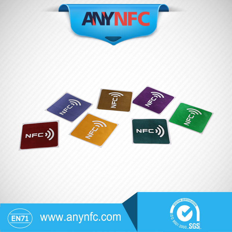 7pcs/Lot chip N-T-A-G 213 NFC tag sticker universal lable-Free shipping by China Post Registered Air Mail