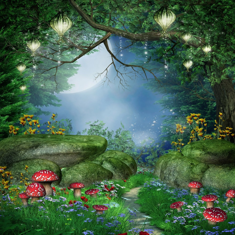 Fairytale Forest Background Www Imgkid Com The Image