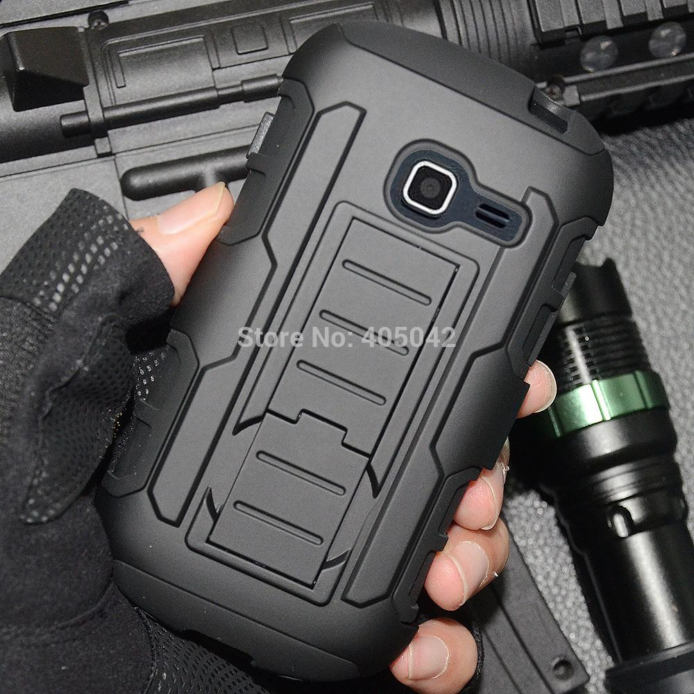 Phone Cases For SAMSUNG GALAXY DISCOVER CENTURA S738C Hybrid Protective Armor Case Cover Holster Belt Clip(China (Mainland))