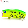 Lifelike Fishing Lure 5 5cm 11g 8 Hooks Pesca Fish Popper Lures Wobbler Isca Artificial Hard