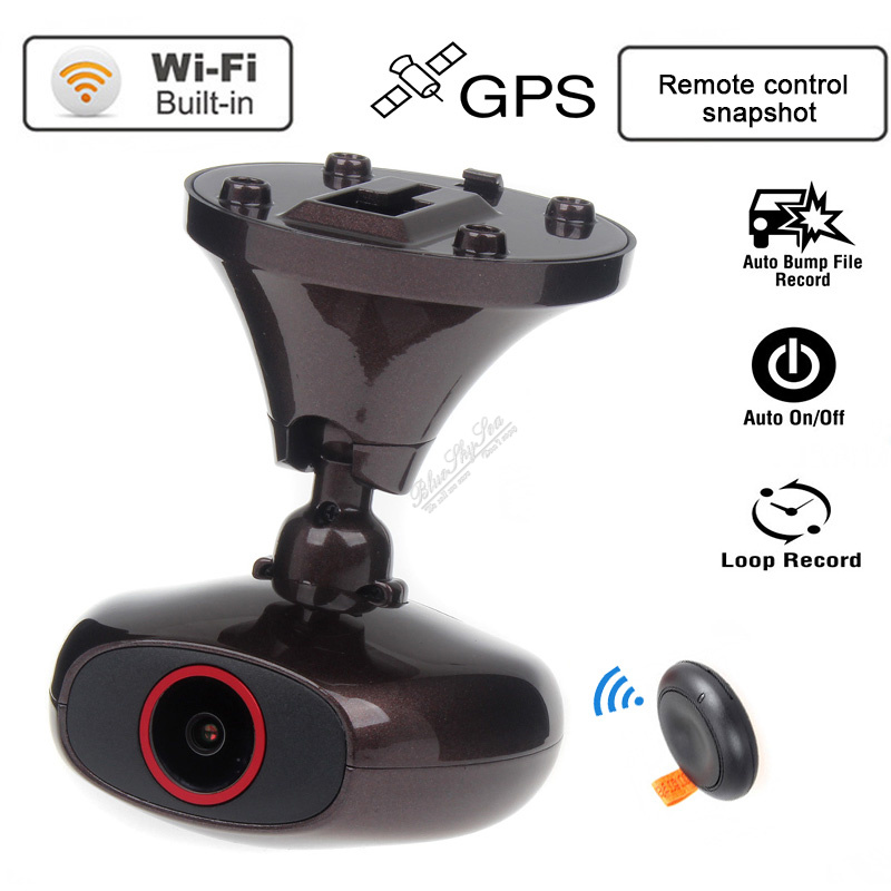 Free shipping! Car Dash Cam DDPAI M6 Plus HD 1440P WIFI GPS Camera DVR  CPL Filter Hard Wire