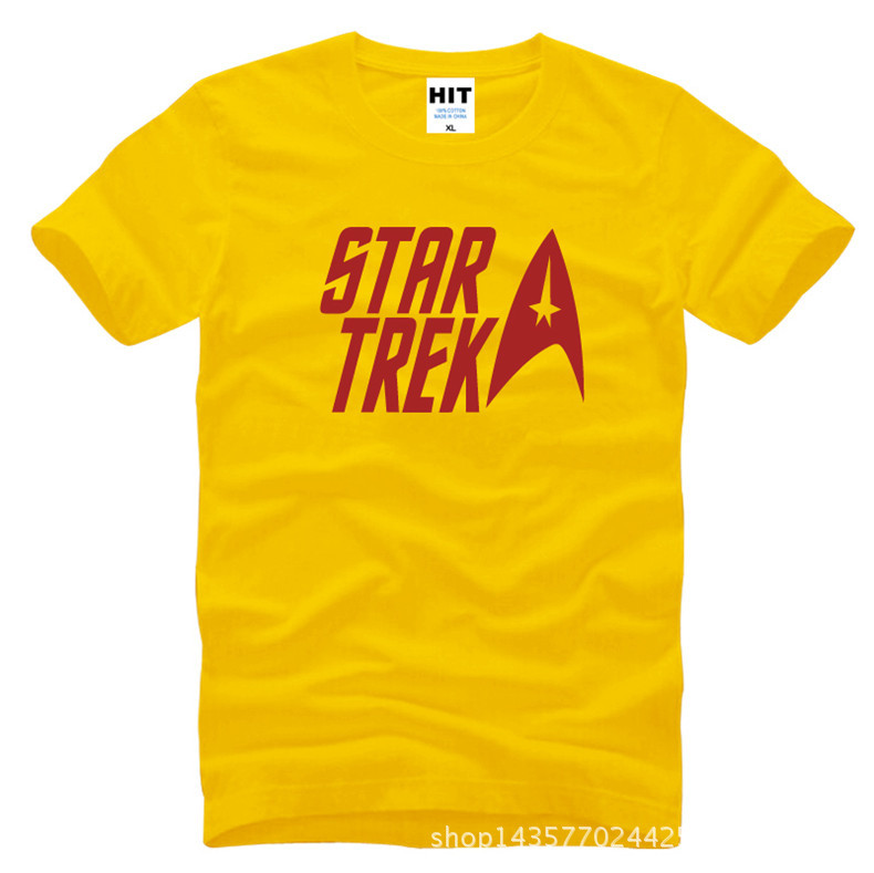 classic movie Star trek Printed Mens Men T Shirt Tshirt Fashion 2015 New Short Sleeve O Neck Cotton T-shirt Tee Camisetas Hombre  HTB1rcnBKXXXXXbiXVXXq6xXFXXXg