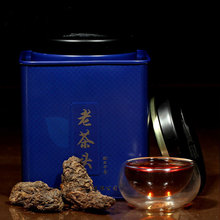 Old tea head, aged Pu'er tea, cooked tea, loose tea aged Pu'er