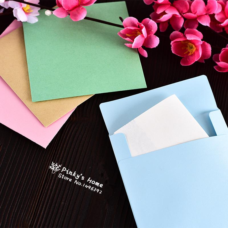 Маленькие конвертики на открытку