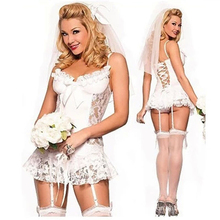 2016 New hot sexy underwear women sexy lingerie hot ladies transparent conjoined dress suit erotic costums clothes for sex