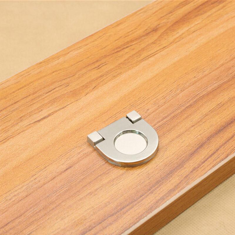 Гаджет   European Simple Zinc Alloy Wardrobe Handles Cabinet Knobs Kitchen Door Pull Furniture Accessories  None Мебель