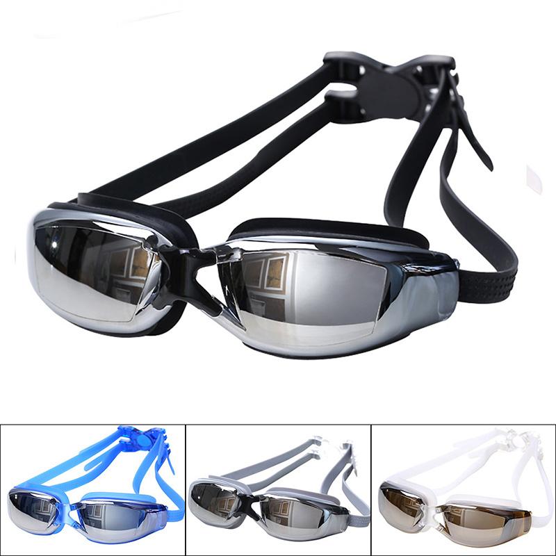 Men Women Anti Fog UV Protection Swimming Goggles Professional Electroplate Waterproof Swim Glasses(China (Mainland))