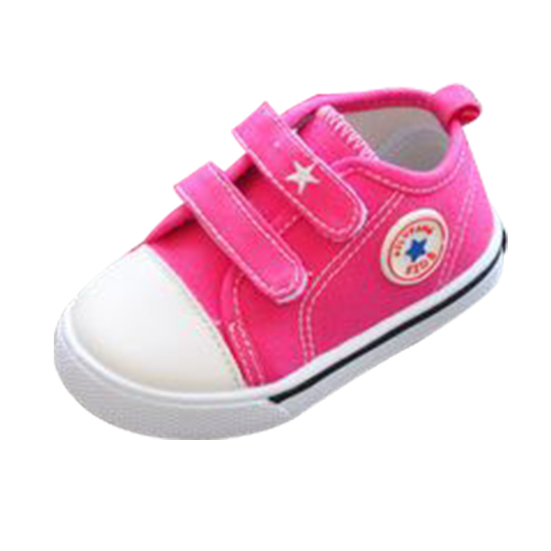 Spring Canvas Shoes Candy Color Baby Toddler