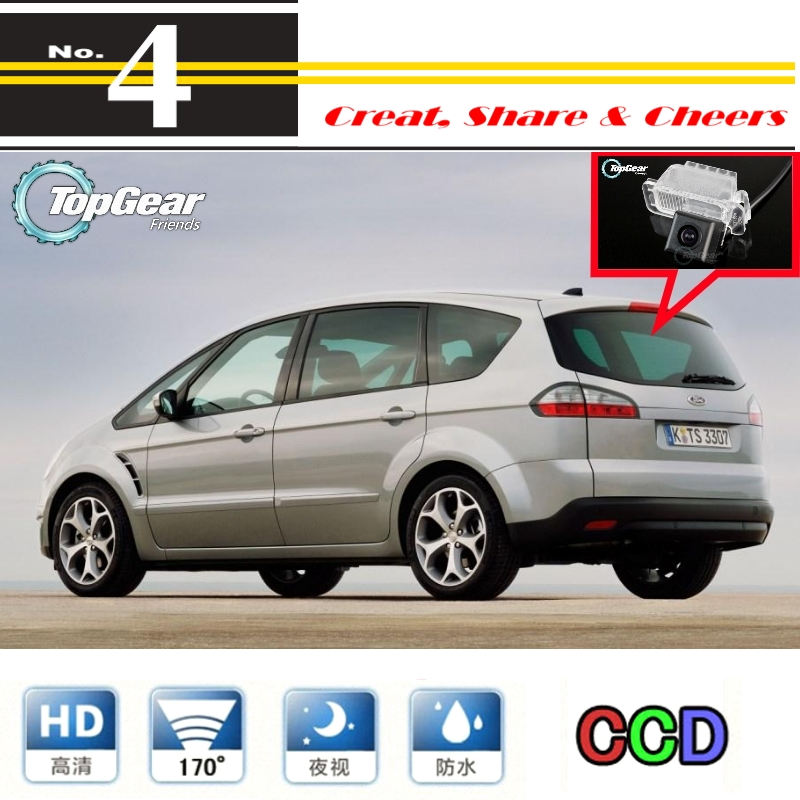 Car Camera For Ford S-Max S Max SMax MK1 2006~2014 High Quality Rear View Back Up Camera For Top Gear Friends to Use | RCA<br><br>Aliexpress