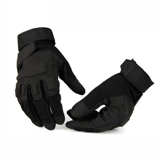 Мужские полный палец тактические перчатки открытый ветрозащитный боевые перчатки ...
