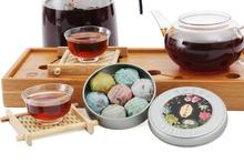 tea top grade pu er tea hight quality puerh 7 Different Kinds Flavors Mini box pu