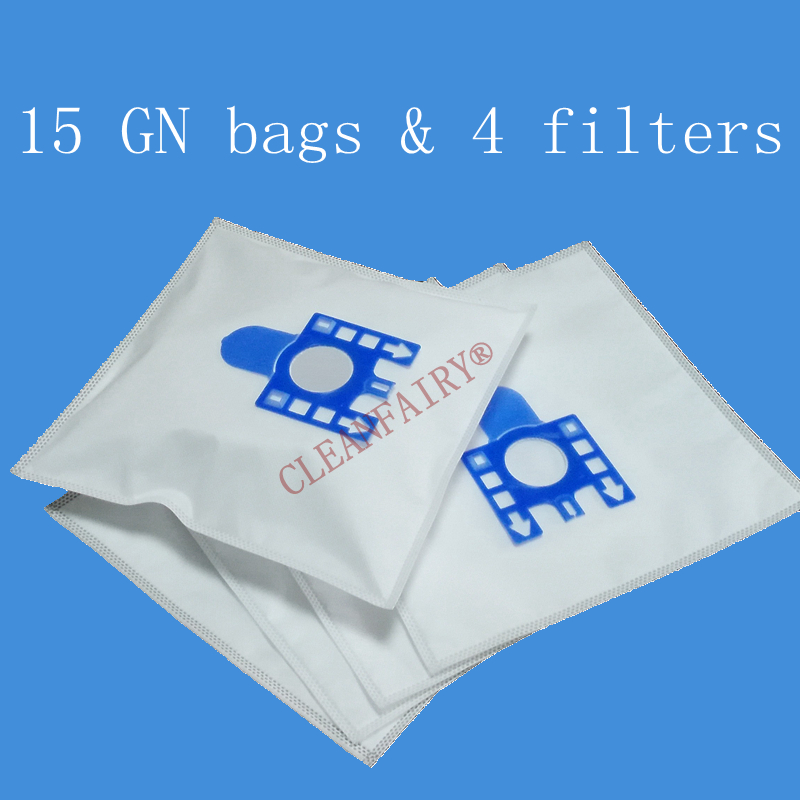 Free shipping 15X vacuum cleaner bags Miele GN S5210 S5211 S5261 TT5000 S2121, S8310 Cat and Dog S8390 S8590 Hoover dust bags(China (Mainland))