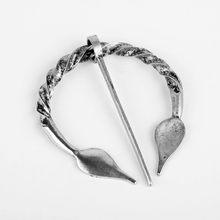 Viking Spilla Collezione Vintage Penannular Spalla Scialle del Catenaccio Della Sciarpa Mantello Spille Medievale Gioielli Norse Vichingo Metallo Spille Distintivo(China)