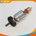 AC 220V 6 Teeth Drive Shaft Electric Hammer Armature Rotor for Bosch GBH3 28E High quality