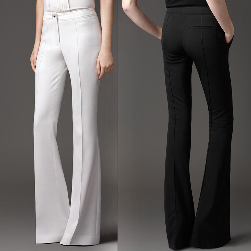 Popular Women Flared Dress Pants-Buy Cheap Women Flared Dress ...