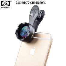 Buy APEXEL 18X super Macro Lens kit Clip-on Camera Lens iPhone case Xiaomi redmi 4pro note Samsungs7 galaxy smartphone lens kit for $10.02 in AliExpress store