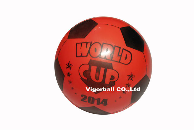 free shipping-Wholesale-22cm No.4 kids smooth PVC soccer  six colors and patterns