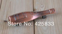 64mm Red Bronze Zinc Alloy Bottle Handle Drawer Handle Cabinet Pulls Kitchen Handles Dresser Knobs and Handles