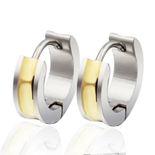 DALI 2015 New Trendy Jewelry Titanium Steel Earrings High Quality Popular Woman Jewelry Free Shipping DTE13(China (Mainland))