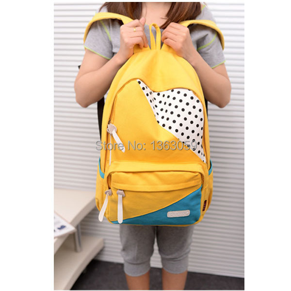 2015 New fashion korea style school bags for girls casual ...