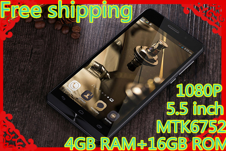 Free shipping Orginal cell phone 4G Mpie S960 phone MTK 6752 Octa core 13 0MP mobile