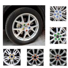 20Pcs 17/19/21/23 mm Silicone Hexagonal Socket Car Wheel Hub Screw Cover, Nut Caps Bolt  Rims Exterior  Decoration & Protection(China (Mainland))