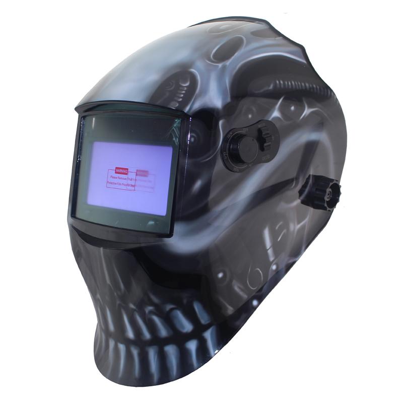 Out adjust Big view eara 4 arc sensor grinding cutting Solar auto darkening TIG MIG MMA welding mask/helmet/welder cap/face mask(China (Mainland))