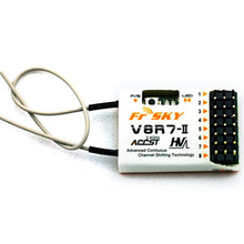 2016 Hottest FrSky V8R7-II 2.4G 7CH Receiver Free Shipping