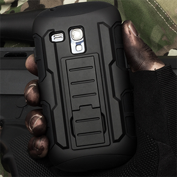 For Samsung Galaxy S3 Mini Case, Armor Impact Holster Hard Case For Samsung Galaxy S3 Mini S3mini i8190 8190 Cell Phone Cover(China (Mainland))