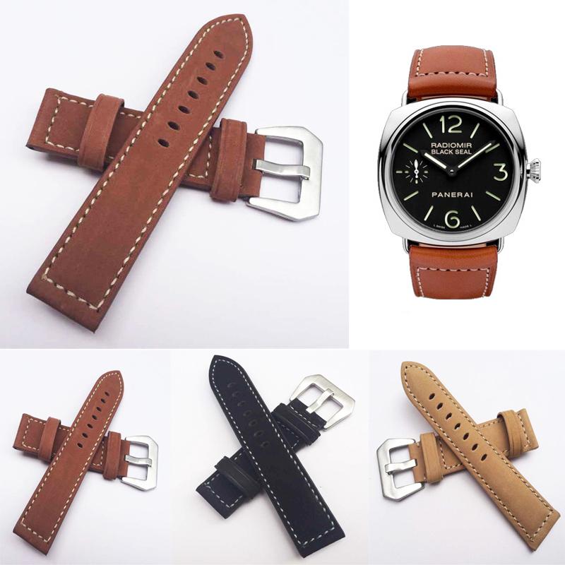 Гаджет  1 PCS High Quality 22mm Genuine Leather Handmade Watch band watch strap None Часы
