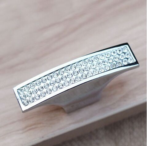 Гаджет  New Crystal door pulls/ furniture handles/ cabinet handles/ modern style handles None Мебель
