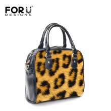 Buy FORUDESIGNS Women PU Leather Handhags,Leopard Printing Brand Ladies Female Messenger Tote Hand Bags,Woman Crossbody Shoulder Bag for $45.59 in AliExpress store