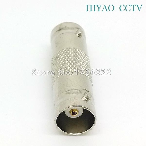 Free shipping 10 pcs BNC CCTV Coax Coaxial Cable Coupler Adapter Connector Female RG59