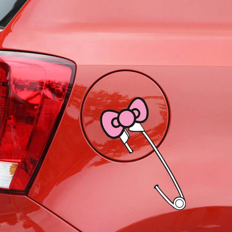 Buy fuel tank cap hello kitty car for Housse de voiture hello kitty