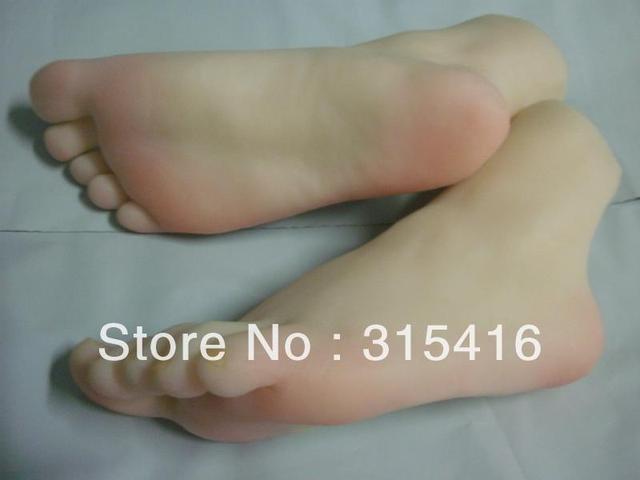 life size woman's foot feet model BJ60a